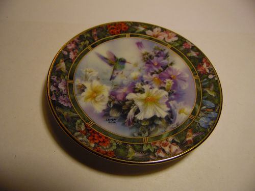 Lena Liu's Hummingbird Treasury mini plate Broad billed Hummingbird #3