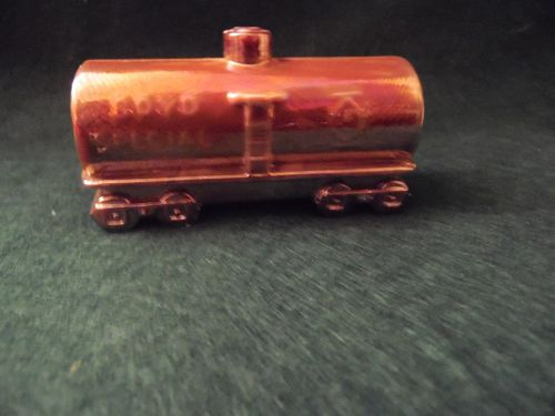 Boyds Glass Special carnival glass tanker train car