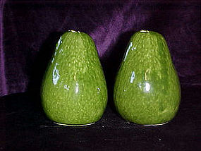 Life size avacado salt & pepper shakers
