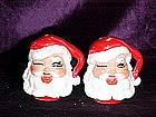 Santa Claus salt & pepper shakers