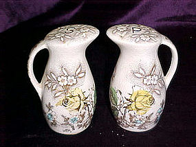 Rosevine salt & pepper shakers