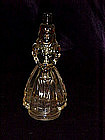 Lady figural perfume bottle