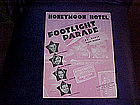 Sheet music, Honeymoon Hotel