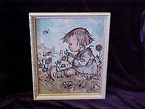 Hummel framed print