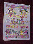 Hunters crying towel