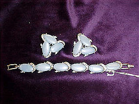 Kramer bracelet and earings set