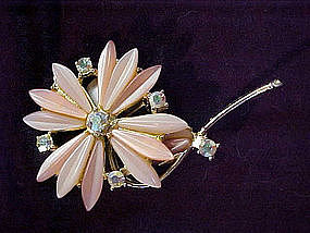 large flower pin