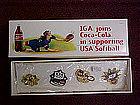 IGA olympic pin set