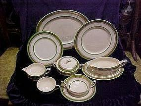 Myotts Staffordshire dinnerware pieces The Crowning pattern
