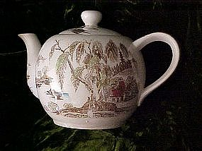 Nasco Sayonara pattern musical tea pot - old