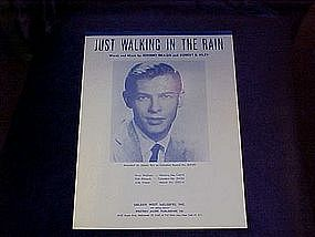 Just Walking in the Rain, recorded by Johnny Ray