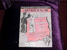I Can't Begin To Tell You, movie, The Dolly Sisters