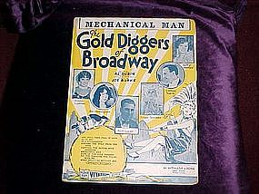 Mechanical Man The Gold Diggers of Broadway