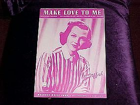 Make Love To Me, Jo Stafford