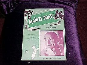 Mairzy Doats featuring Al Trace on cover