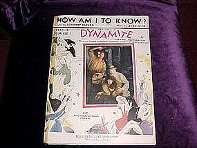 How am I to Know, from Dynamite