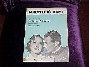 Farewell To Arms, Ernest Hemmingway