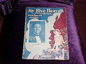My Blue Heaven, featured by Gene Austin