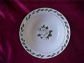 "Hall Superior ""Cameo Rose"" sauce bowl"
