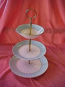Homer Laughlin Eggshell Cavalier three tier server