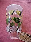 Libby hand shaker with leaves design