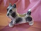 Old pottery scotty dog planter