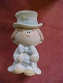 Bumpkin figurine, Anxious Groom