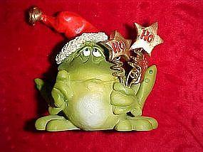 Russ Santa Toad Frog Ho Ho Ho