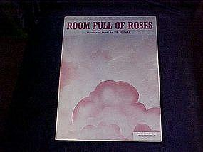 Room full of Roses, sheet music