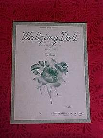 Waltzing doll, sheet music 1936