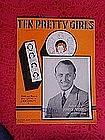Ten Pretty Girls, sheet music 1937