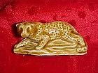 Wade whimsies leopard figurine, 1976