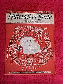 Nutcracker suite, Tschaikowsky 5 selections,1946
