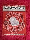 Nutcracker suite, Tschaikowsky 5 selections,1946