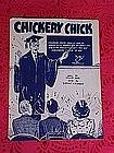 Chickery Chick, sheet music 1945