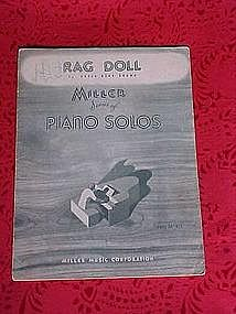 Rag Doll, sheet music 1928