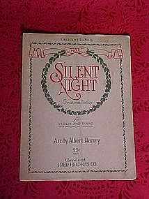 Silent Night Christmas Medley, music 1913