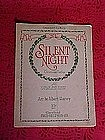 Silent Night Christmas Medley, music 1913