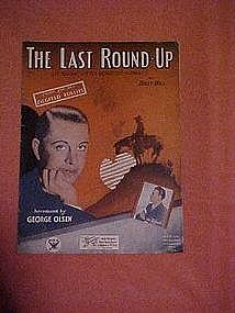 The last roundup Git along, little Dogie,Git along,
