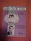 Baby Blue Eyes, sheet music 1922