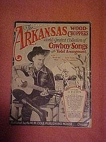 The Arkansas Woodchoppers collection of cowboy songs