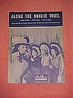 Along the Navajo trail, sheet music 1944