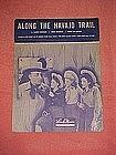 Along the Navajo trail, sheet music 1944