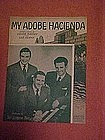 My Adobe Hacienda, Gordon Trio cover photo 1941