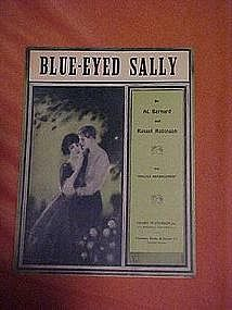 Blue-eyed Sally, sheet music 1924