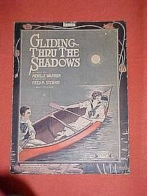 Gliding through the shadows, music 1919