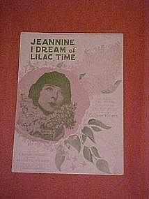 Jeannine I dream of liliac time, from the 1928 movie