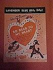 Lavender Blue (Dilly Dilly) Walt Disney 1948