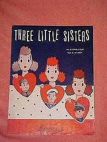 Three little sisters, WW11 music 1942