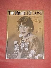The night of love, by Vilma Banky 1927